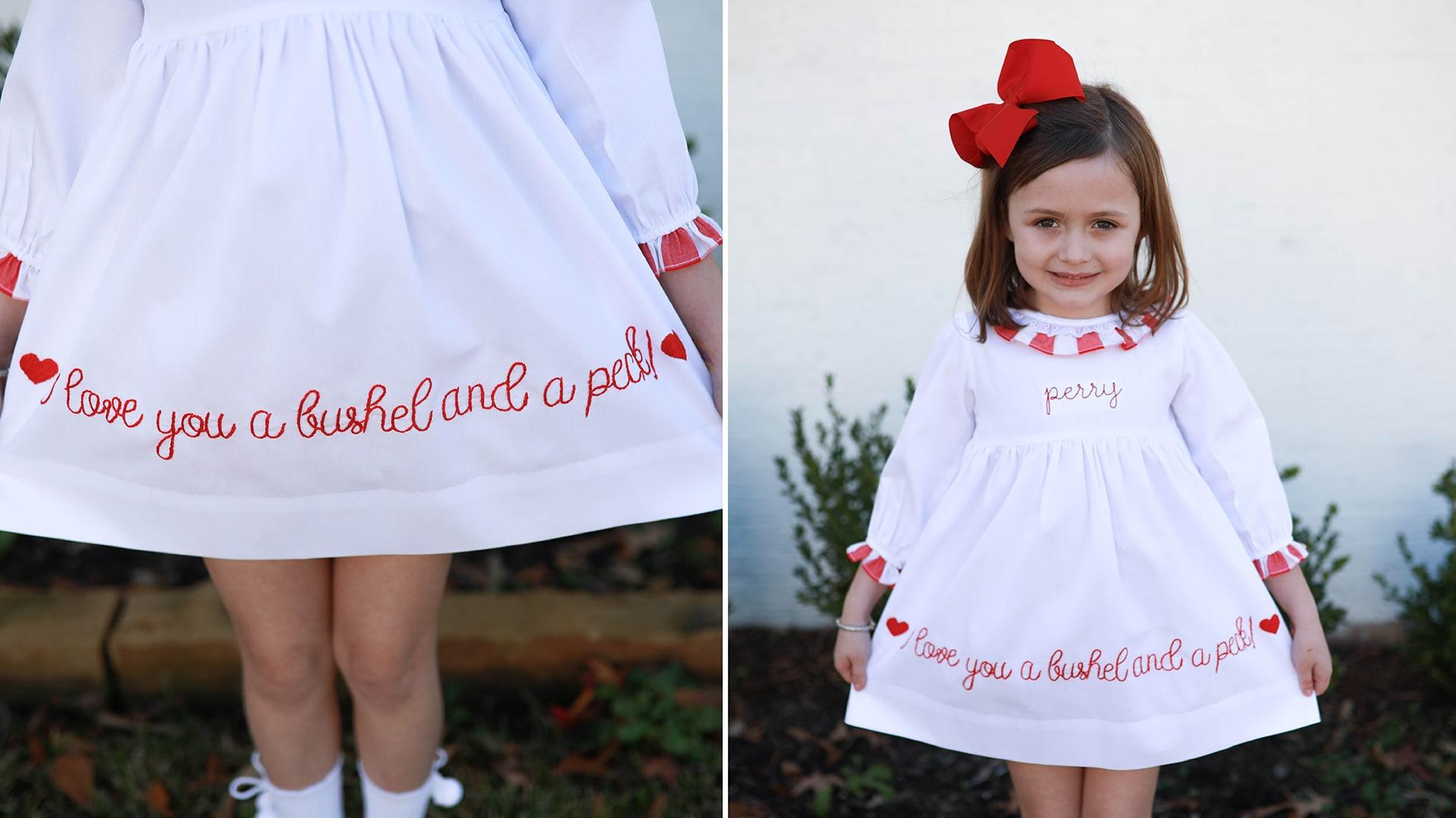 Girls Valentines Dresses