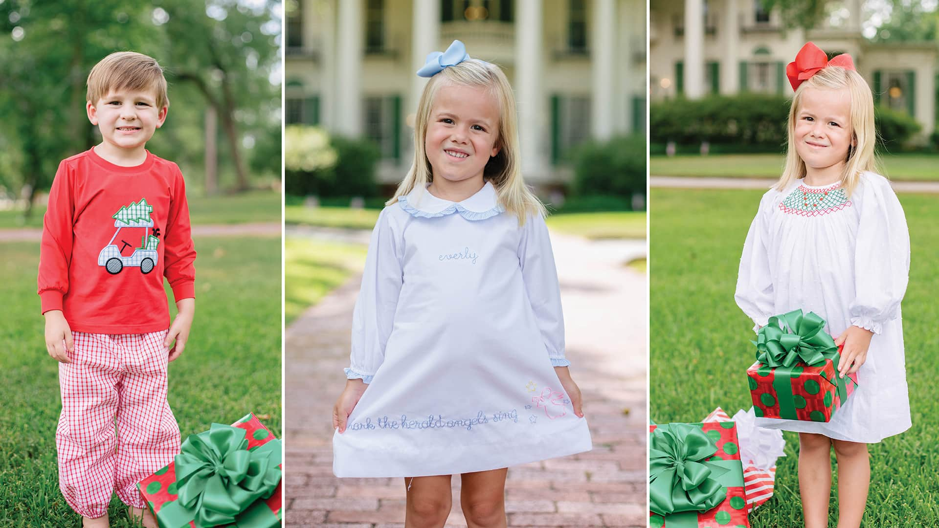 Baby Boy And Girl Matching Halloween Costumes.Cecil Lou Smocked Clothing Monogrammed Children S Clothes