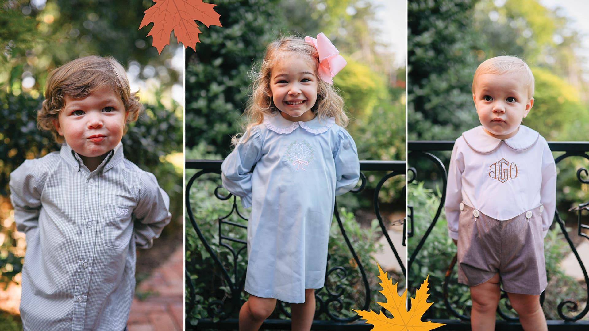 Children's Fall Clothes