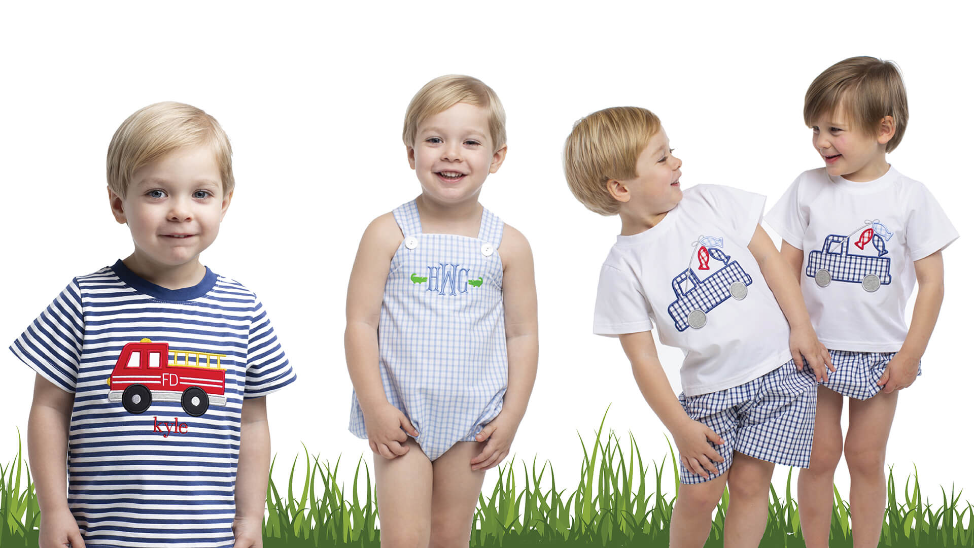 Boys Spring Collection at Cecil and Lou