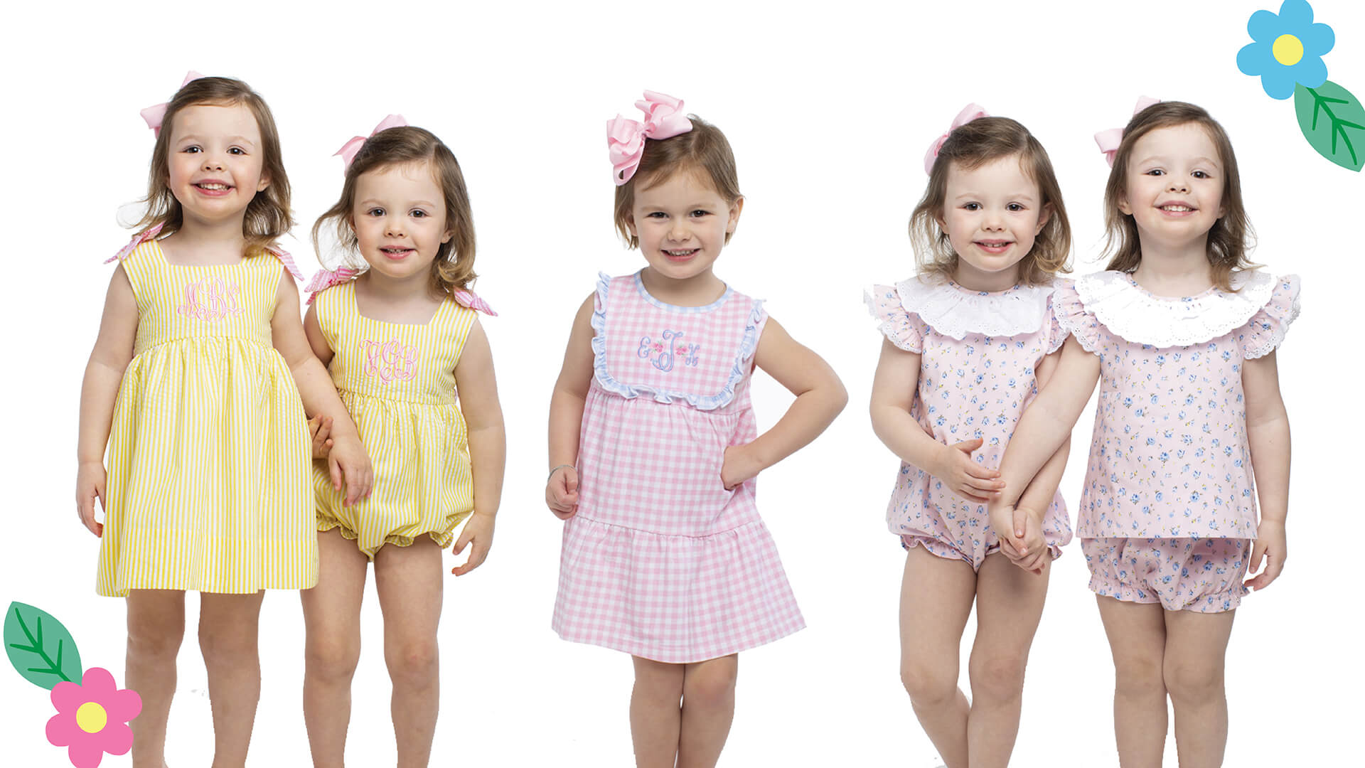 Girls Spring Collection at Cecil and Lou