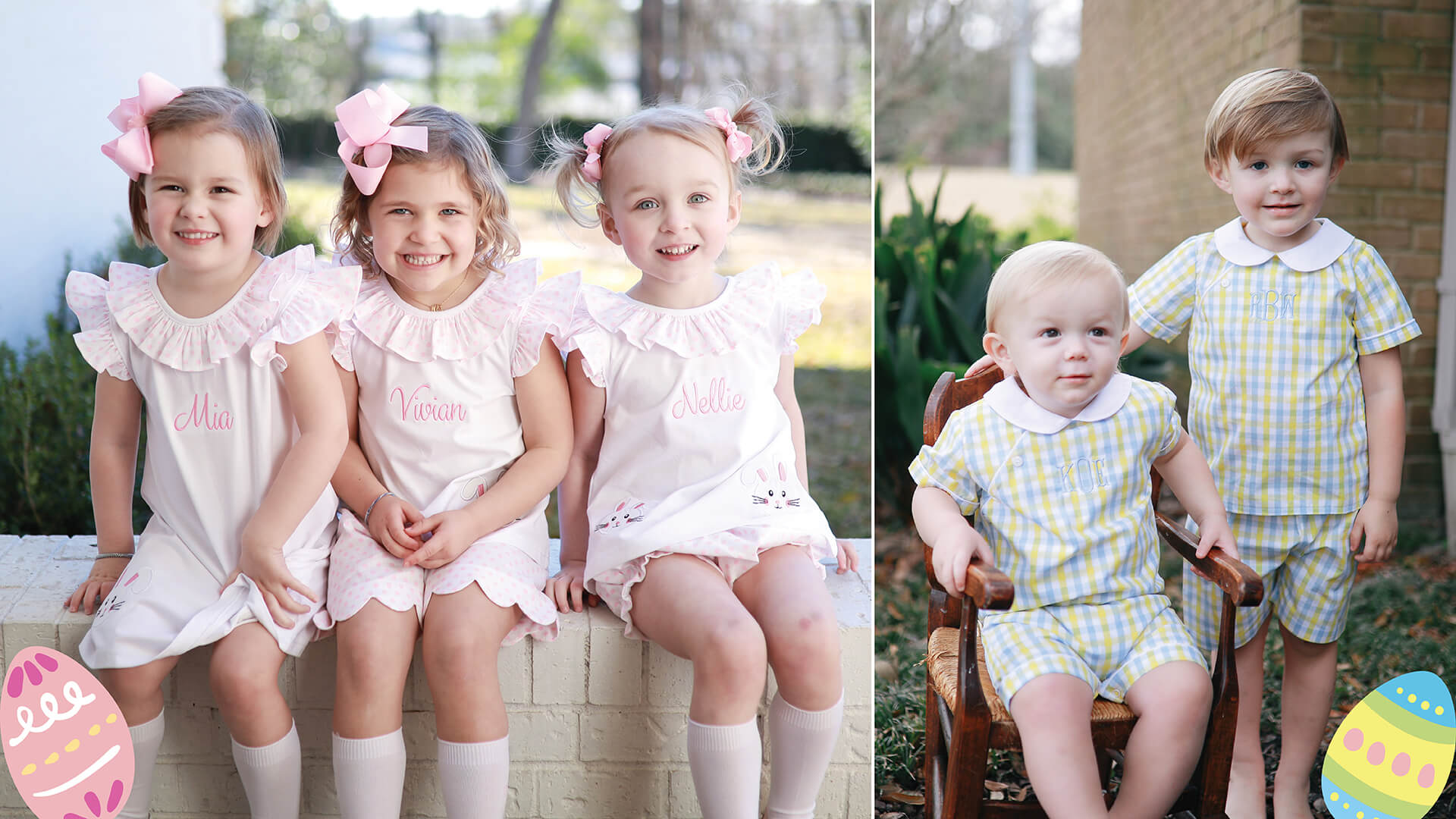 80d415e2d5ad Cecil   Lou ⋆ Smocked Clothing   Monogrammed Children s Clothes