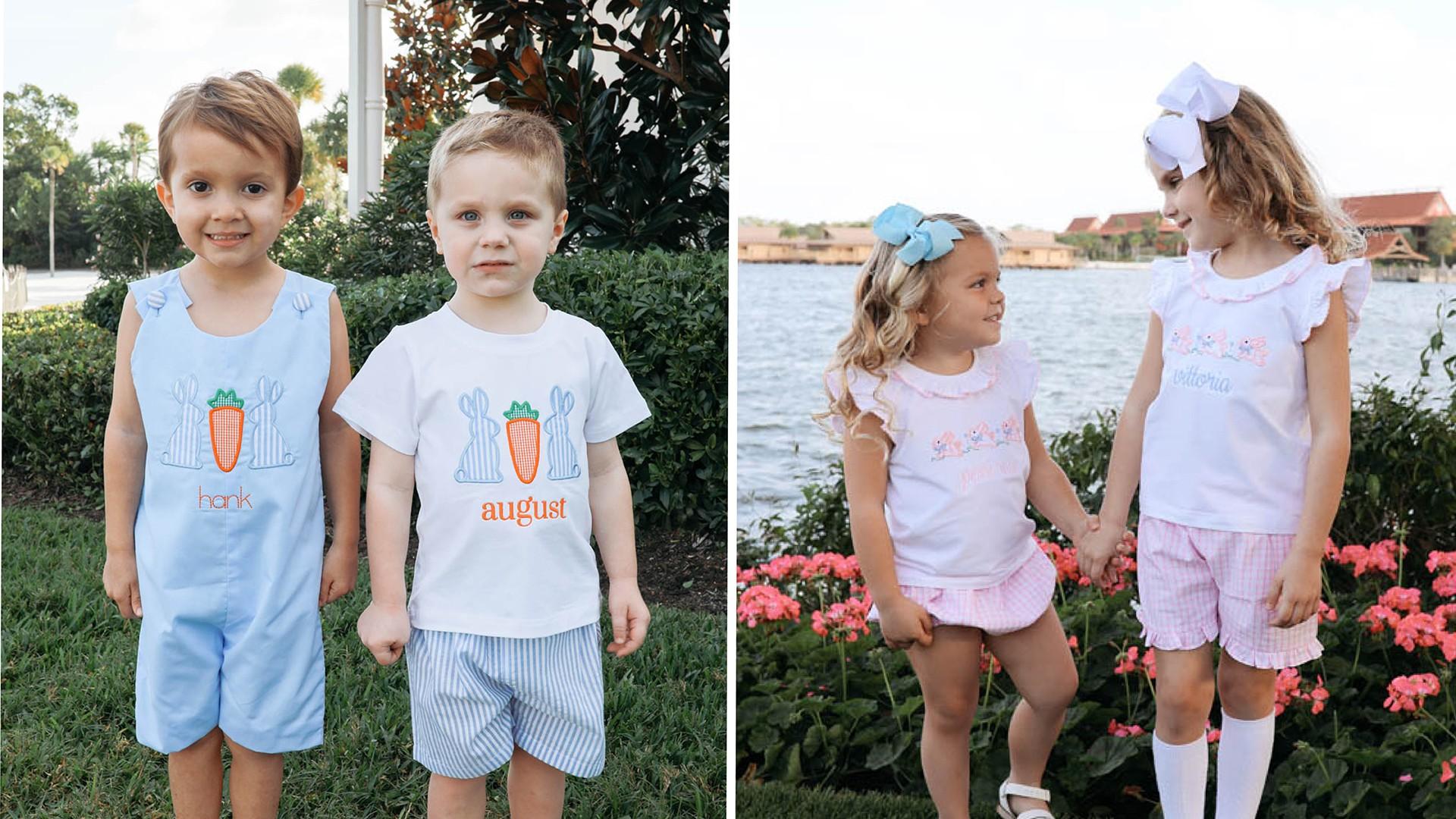 children's easter clothing