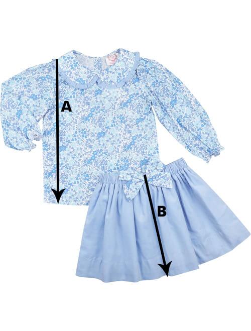 Skirt Set Size Chart