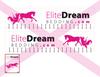 1.76 Elite dreams bedding Decals (vinyl)