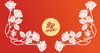 English Rose full size Truck window decals (stickers)