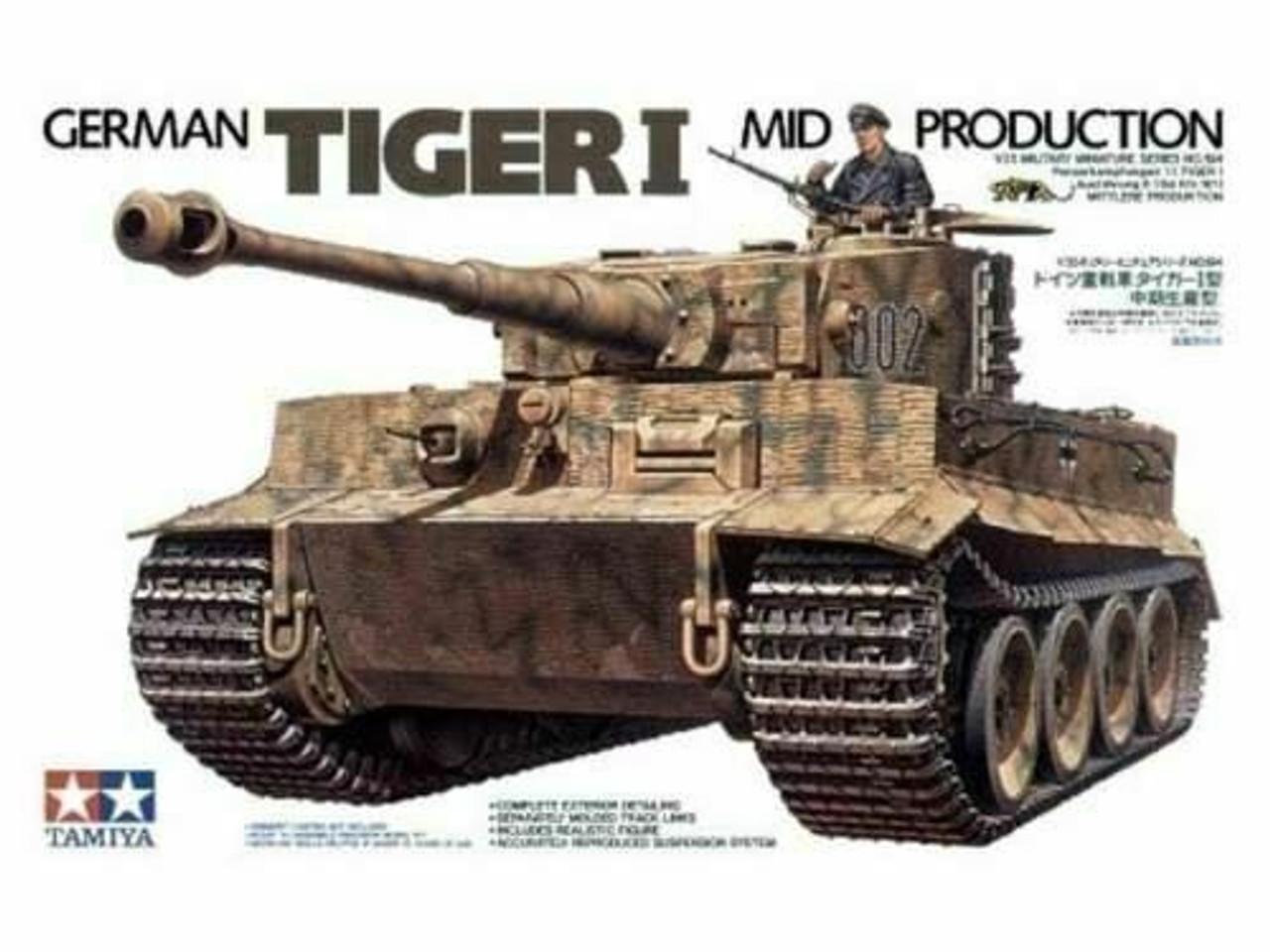 Tamiya German Tiger 1 model military kit