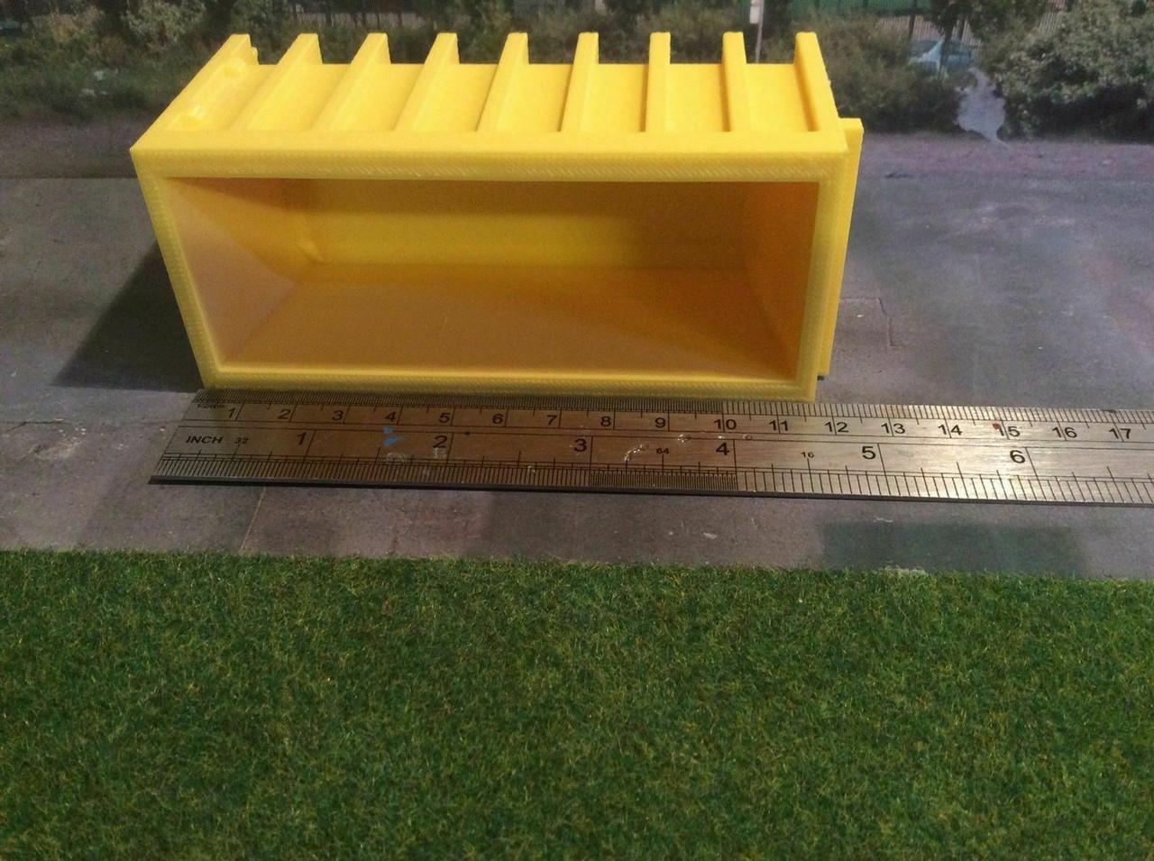 1:50 3D Printed Yellow Skip