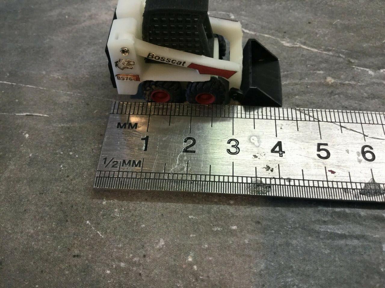 3d Printed Skid Steer 1/76 Scale / 00 Gauge
