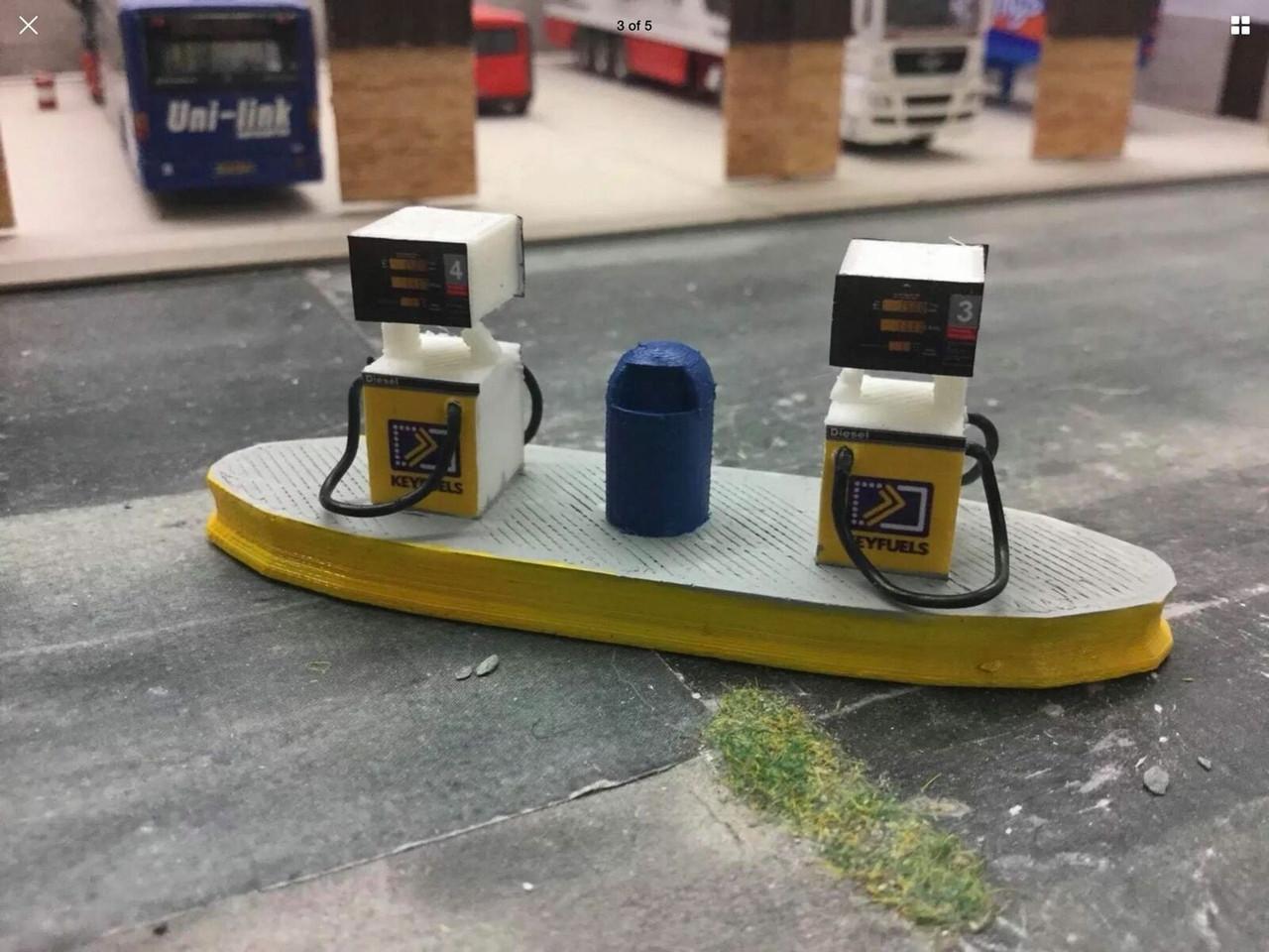 1:76 3D Printed Fuel Pumps