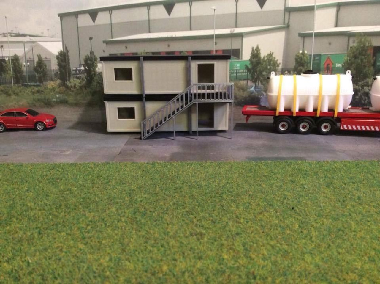 1/76 00 gauge S.R portable site office (double stack upgrade kit ONLY)