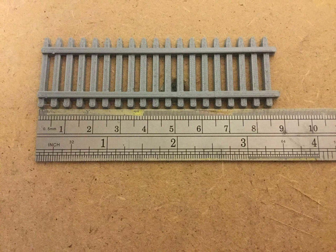 1/76 3d Printed Security Fence Would Suit 1/76 00 Gauge (Grey)