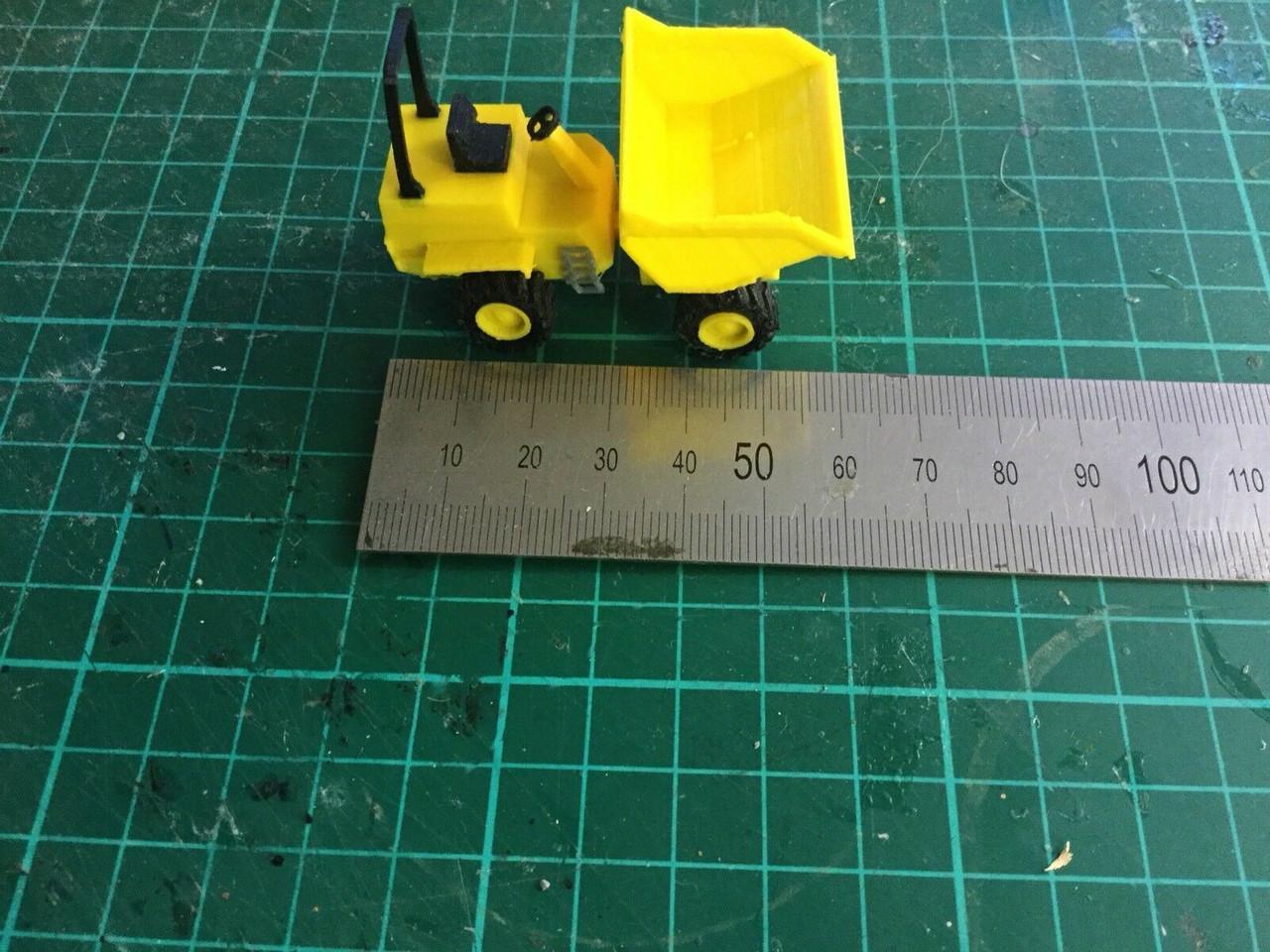 3D Printed  Articulated Dumper Truck ,Suit 1/76 scale & 00 Gauge.