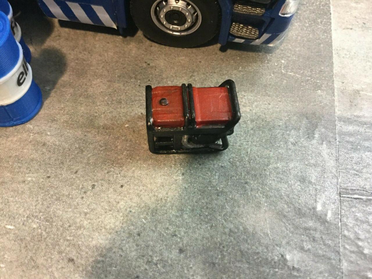 1/50 Scale 3D Printed portable generator, Accessories ,Diorama suit corgi