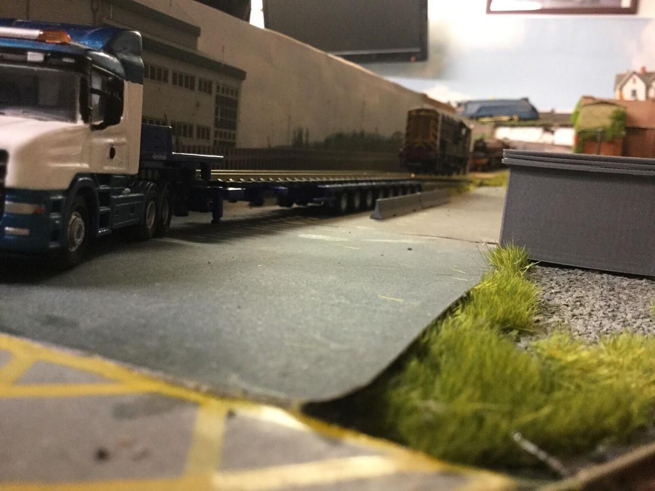 1/76 Scale 3D Printed Loading Ramp  ,  Suit Oxford Die cast  00 Gauge