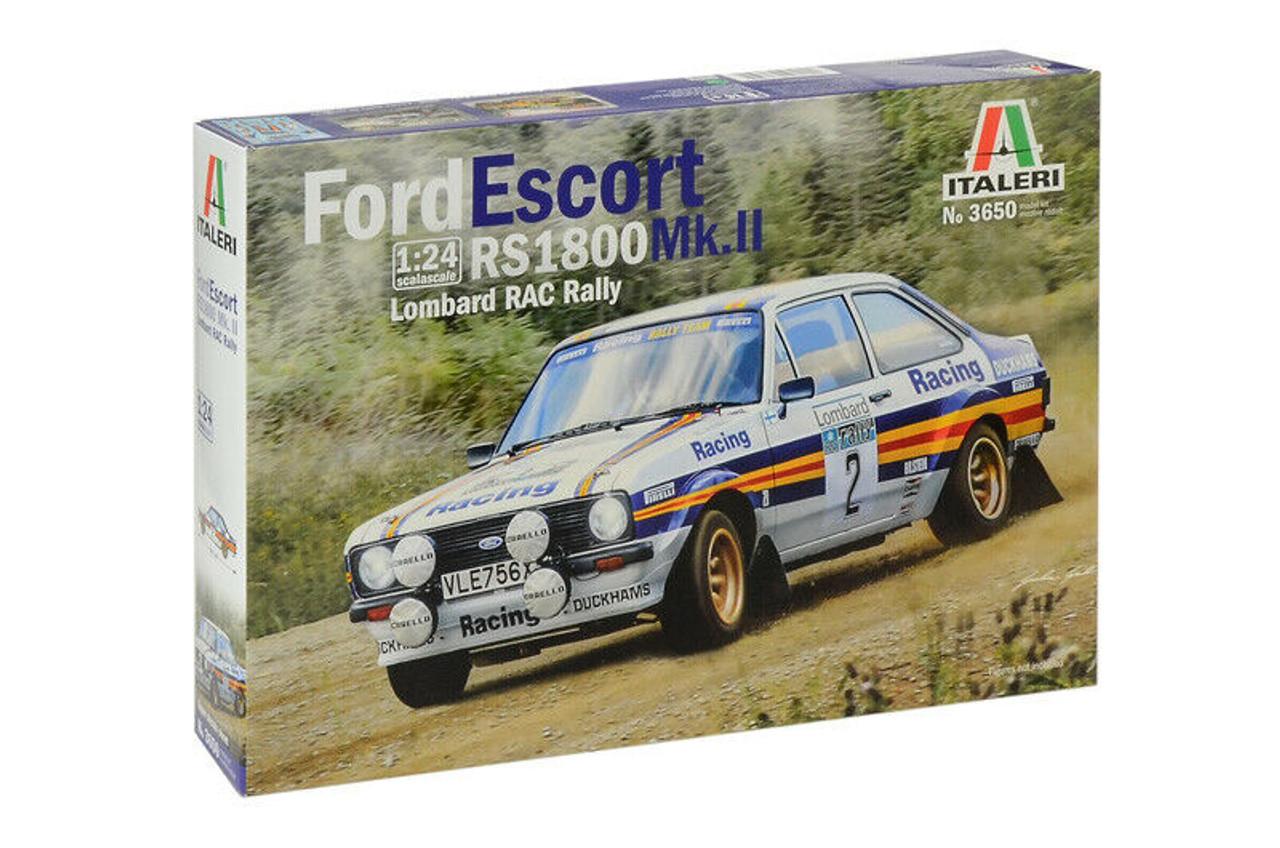 Italeri 1:24 3650 Ford Escort RS 1800 Mk.II Lombard RAC Rally