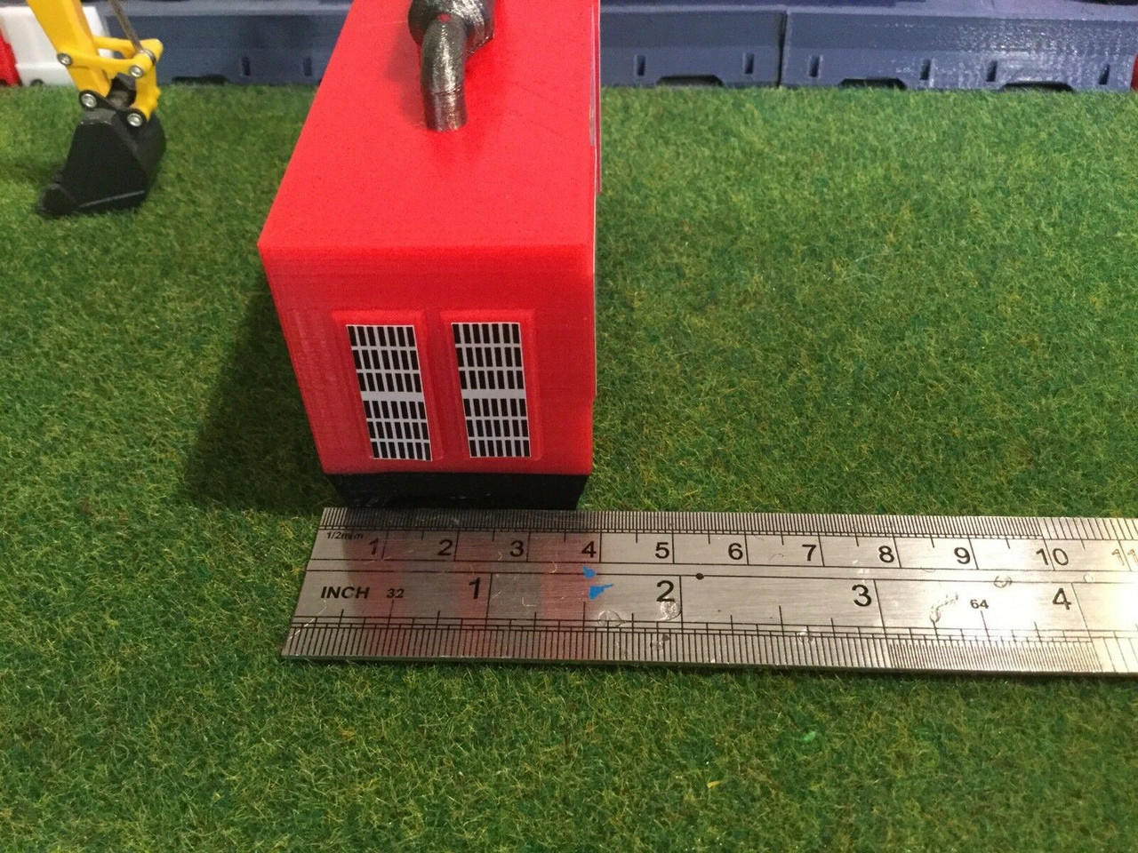3D Printed Generator Red ,Suit 1/50 scale Accessories , Load.