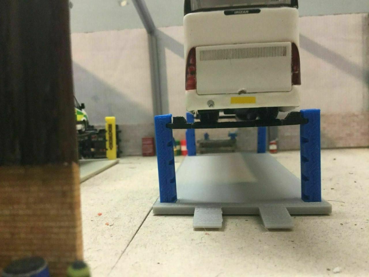 1.76 3D Printed HGV 4 Post Ramp