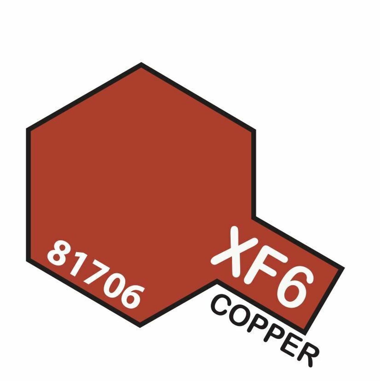 Tamiya 10ml  XF-6 Copper