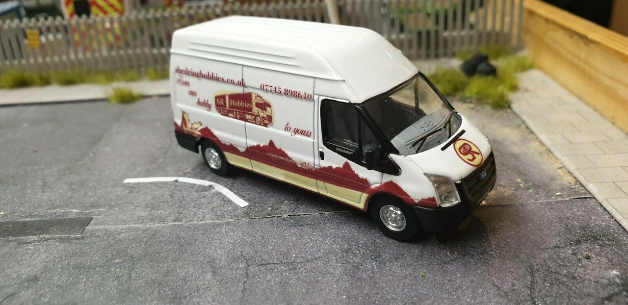1/76 Code3 SR Hobbies supply van oxford diecast ford transit high roof