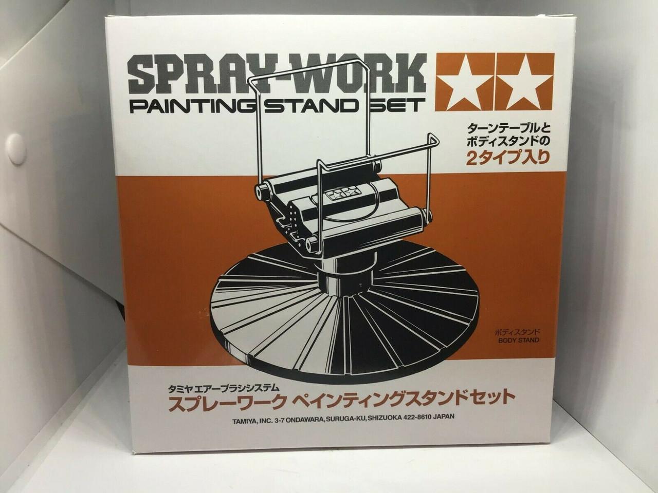 Tamiya 74522 Spray-Work Painting Stand Set For Model Making (Brand New)