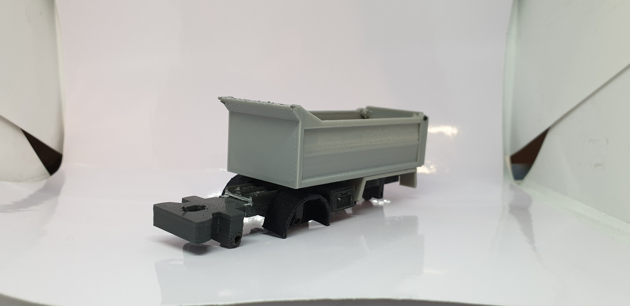 1:76 3D printed Tipper body conversion kit