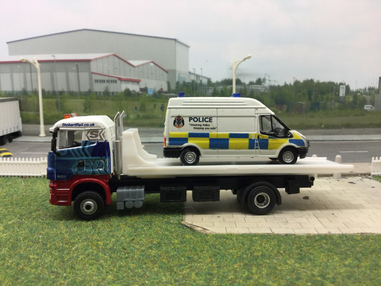 1.76 code 3 Recovery truck body kit