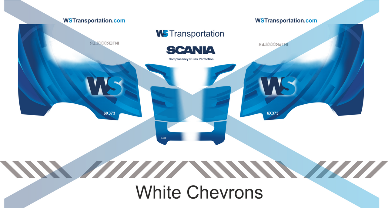 1:50 scale WS Transportation Decals for Next Gen S Series cab