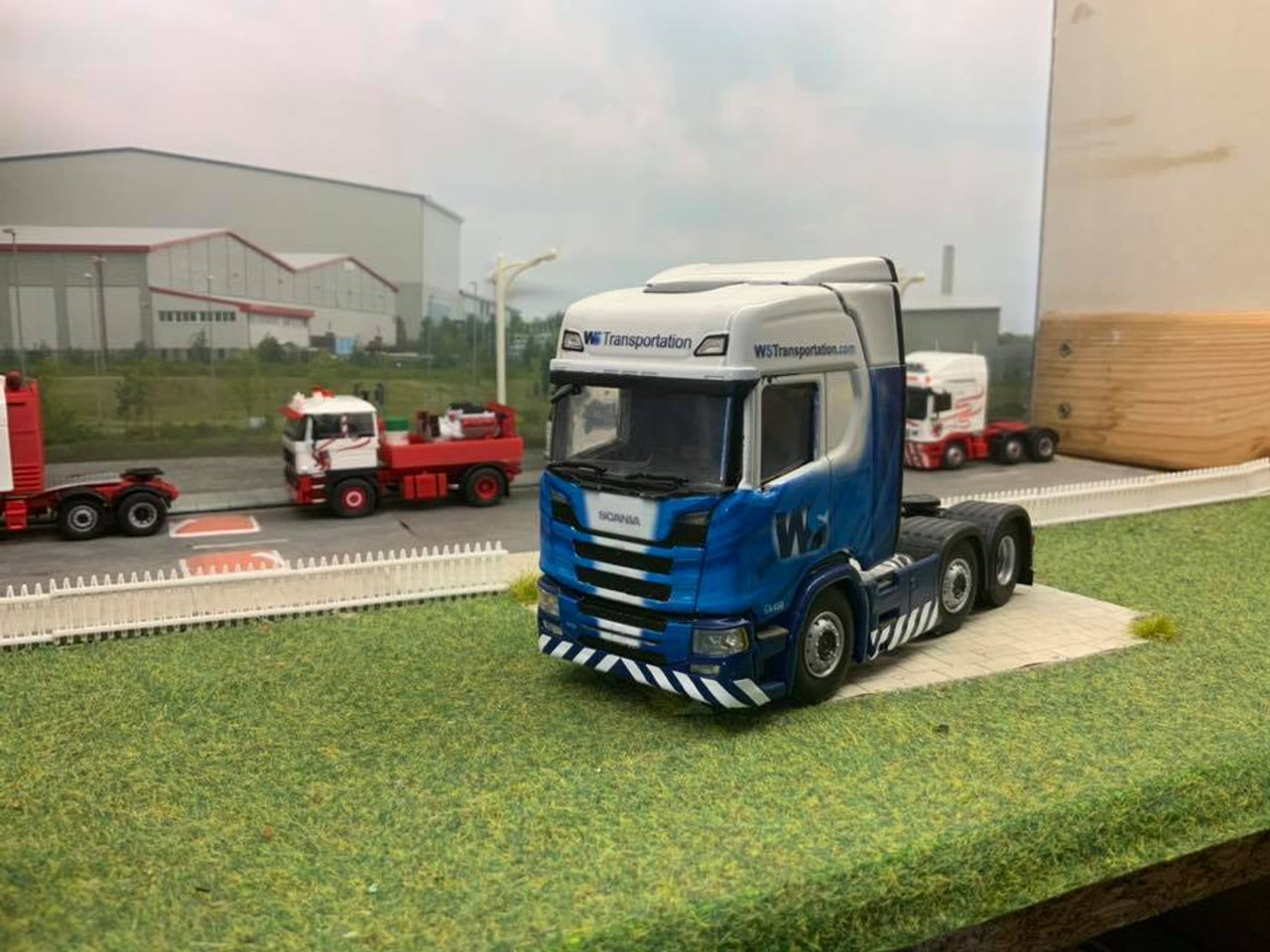 1:50 scale WS Transport Decals for Next Gen R Series cab