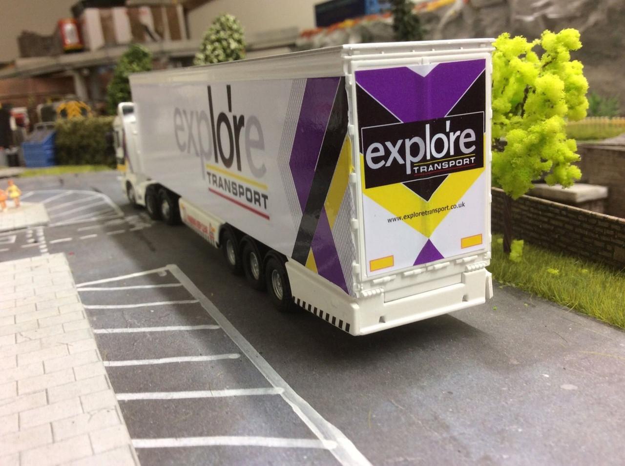 1.76 Explore Transport Decals cab and trailer (vinyl)