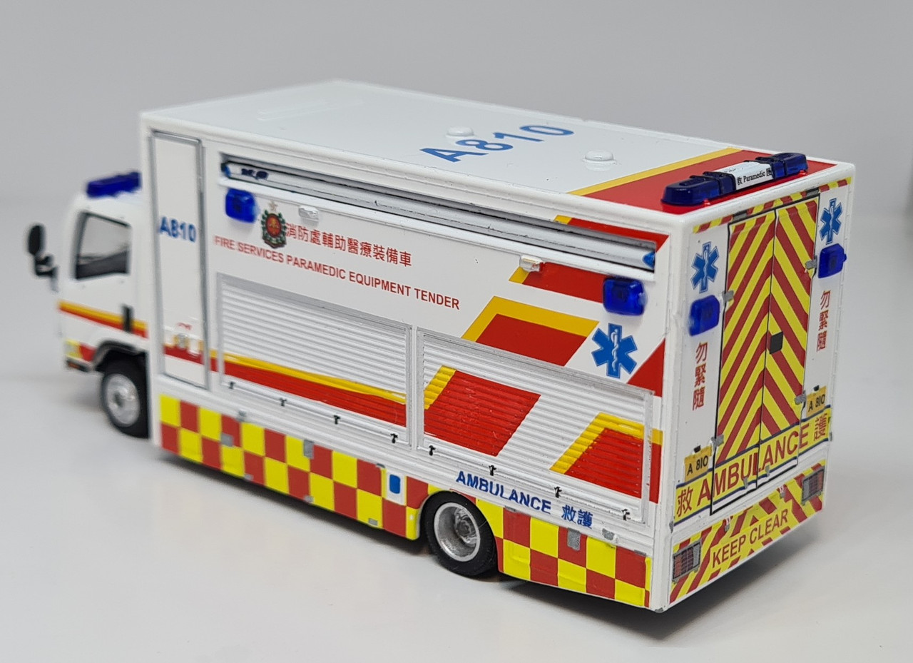 1:76 IZUZU N Series paramadic Equipment tender