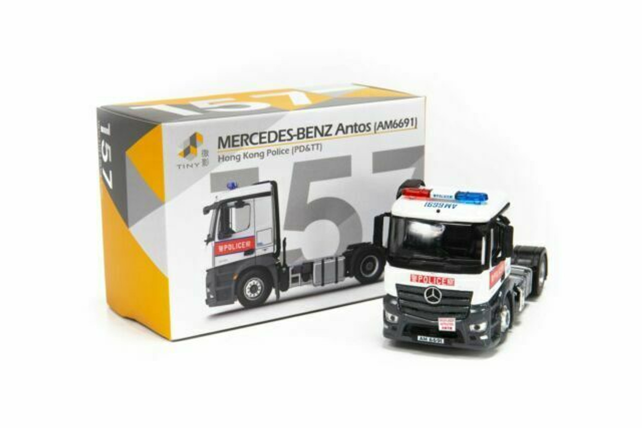 1:76 Mercedes-Benz Antos Police Tractor (PD&TT)