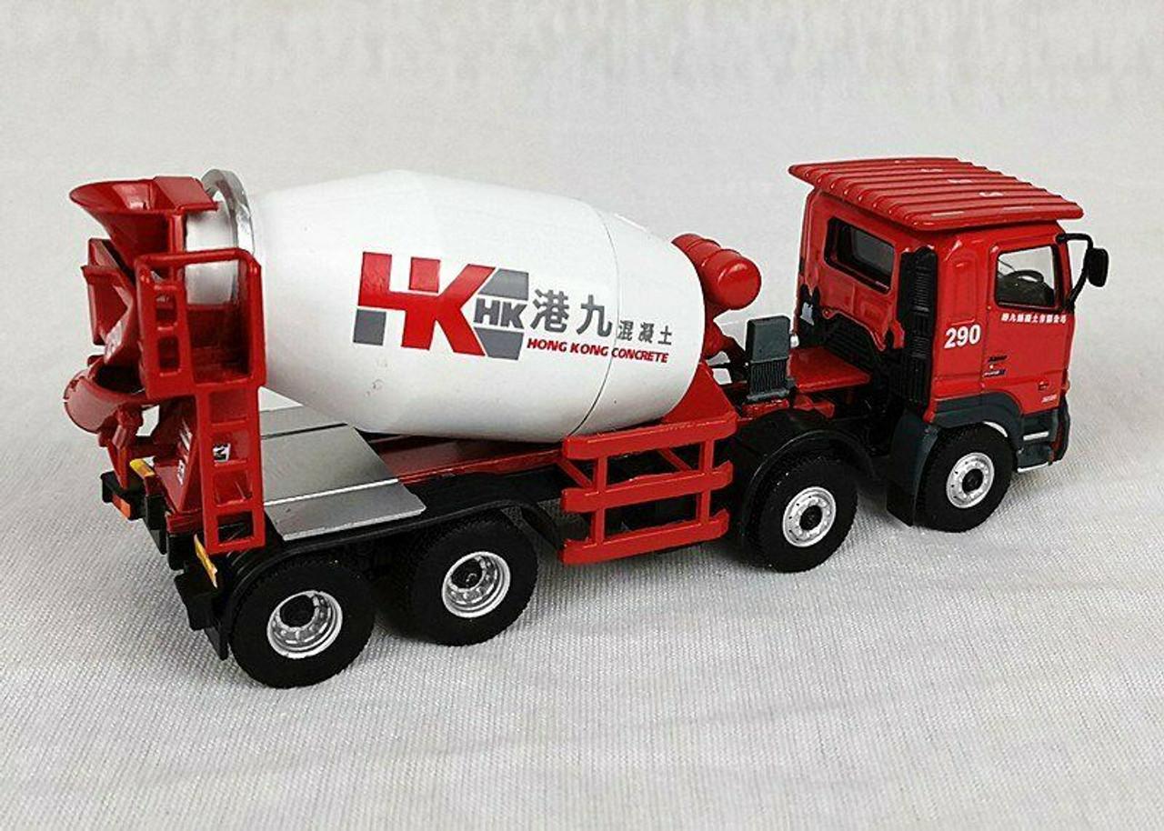 1:76 Hino 700 concrete mixer