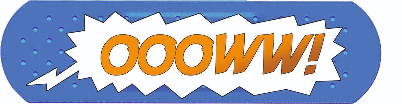 OOOWW! comic car Sticker