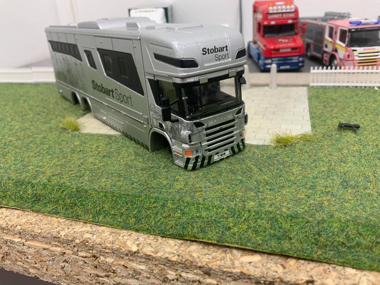 1:76 Scania Fire engine, T-Cab Mirrors *Injection moulded*