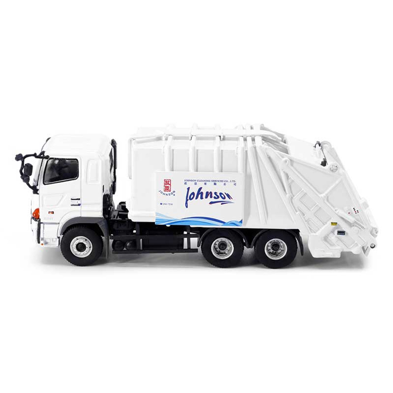 1:76 HINO 700 Refuse Truck Johnson