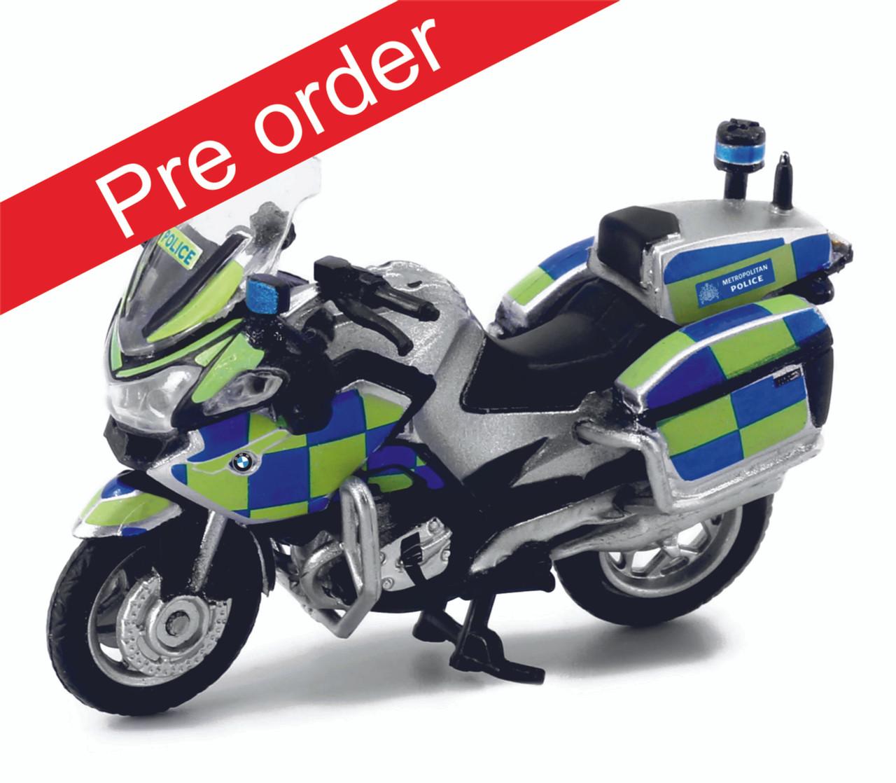 1:43 BMW R1200RT-P Metropolitan Police Service (Pre Order)