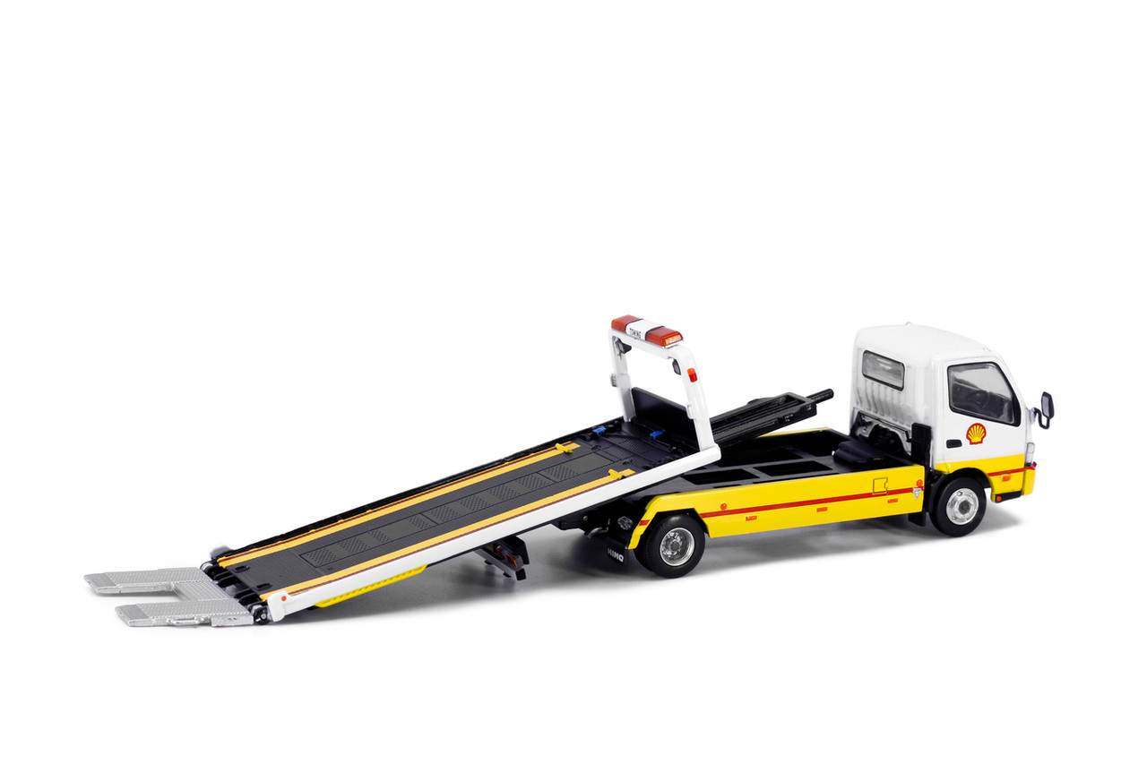 1:64 (Would suit 1:76) HINO 300 Shell Flatbed Tow Truck (Pre Order)