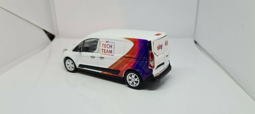 1/43 Code3 Sky Tech Team Greenlight diecast transit connect