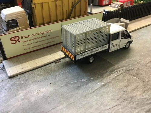 1/76 3D printed transit crew cab cage