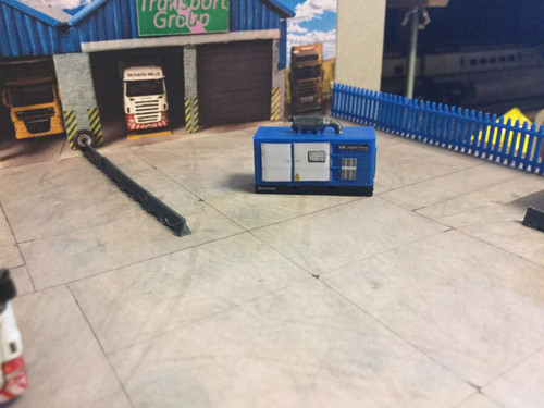 1:148 Scale, N Gauge 3D Printed Blue Generator