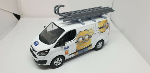 1/43 Code3 Sky Minions (Despicable Me) Greenlight diecast transit custom