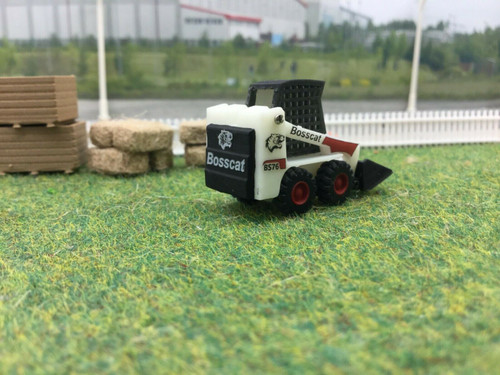 3d Printed Skid Steer 1/76 Scale / 00 Gauge