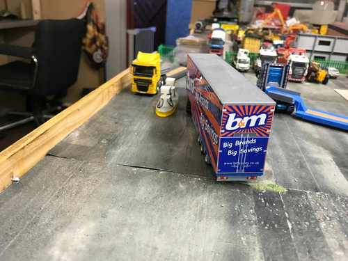 1:76 3D Printed Double Deck Trailer B&M Livery