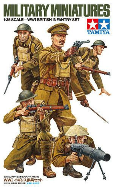 Tamiya 1:35 British WWI British infantry set, Model Kit