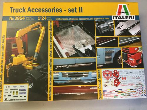Italeri 1:24 3854 TRUCK ACCESSORIES SET 2 Model Truck Kit