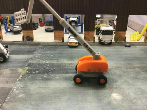 1.76 3D Printed Leanie Cherry Picker - Orange