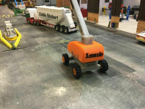 1.76 3D Printed Leanie Cherry Picker - Orange