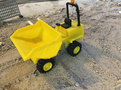 1:76 3D printed S.R Dumper (with working lights)