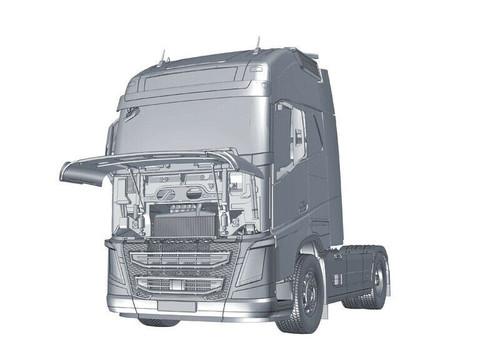 Italeri 1:24 3940 Volvo FH16 Globetrotter XL Model Truck Kit